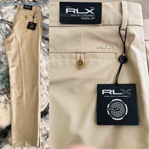 RLX Ralph Lauren NWT CLS KHAKI Golf PANTS 32 x 32